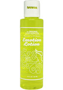 Emotion Lotion Flavored Water Based Warming Lotion Banana 4...