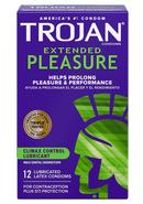 Trojan Condom Pleasures Extended Climax Control Lubricant...