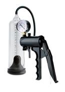 Pump Worx Max Precision Power Penis Pump - Clear And Black